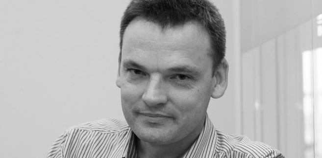 Krzysztof Jedlak, redaktor naczelny Dziennika Gazety Prawnej, fot. Wojciech Górski