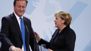 David Cameron, Angela Merkel