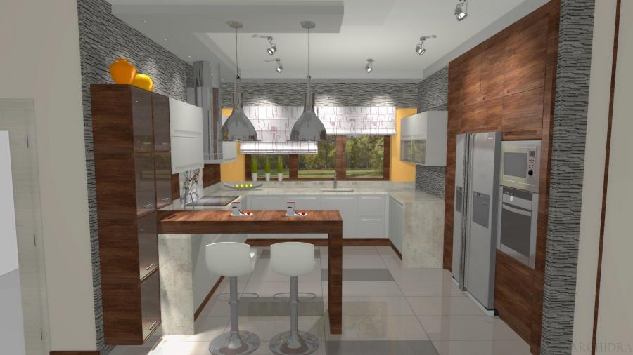 Nowoczesna i industrialna aranżacja kuchni  zdjęcie  Nieruchomości  rynek   -> Nowoczesna Kuchnia Industrialna