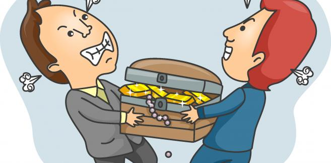 Kłótnia o pieniądze