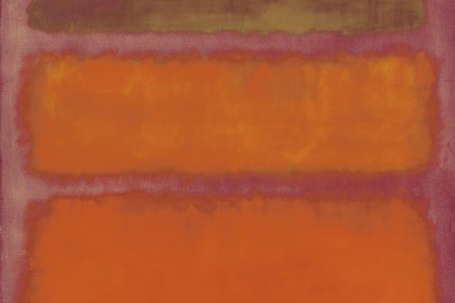 "Obraz ""Orange, Red, Yellow"" (1961), Mark Rothko"