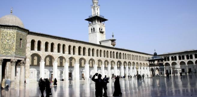 Meczety w Damaszku, stolicy Syrii.