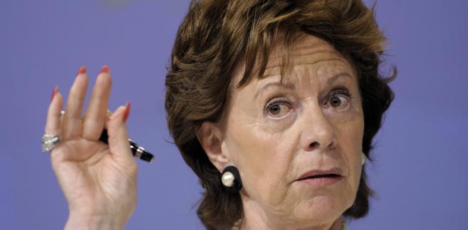 Unijna komisarz ds. agendy cyfrowej Neelie Kroes