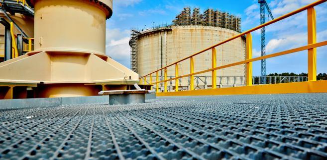 Budowa terminalu LNG - lipiec 2013 Zdj. Polskie LNG