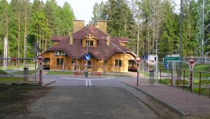 Przejście graniczne w Białowieży, fot. beentree, CC BY-SA 3.0