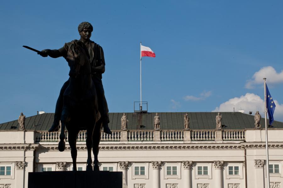 Pałac Prezydencki w Warszawie, 16.06.2014