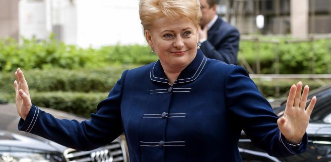 Dalia Grybauskaite, prezydent Litwy