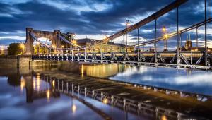 Wrocław, most, Polska, zabytki