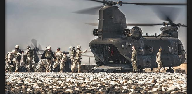 Polska misja w Afganistanie. Fot. st. chor. szt Adam Roik. Combat Camera DO RSZ