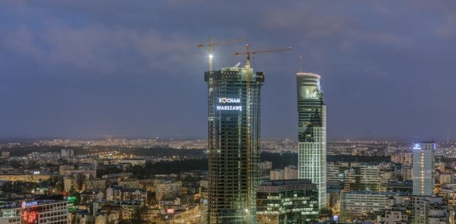 Warsaw Spire - to tu swoją siedzibę ma agencja Frontex