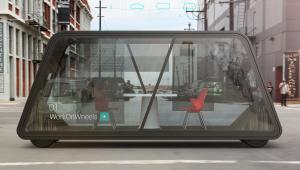 Koncepcja samojeżdżącego biura, źródło: IDEO