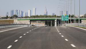 Nowo otwarty odcinek drogi S8 - węzeł Opacz