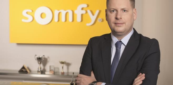 Radosław Borkowski, dyrektor zarządzający Somfy