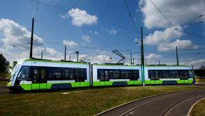 6. Solaris dostarcza do Olsztyna tramwaje (na zdjęciu) i autobusy