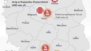 Zaakceptowane projekty PIR (infografika Dariusz Gąszczyk)