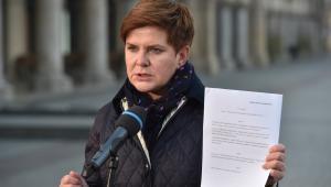 Wiceprezes Prawa i Sprawiedliwości Beata Szydło