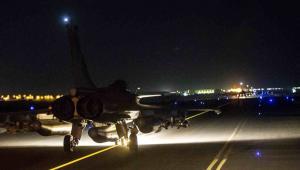 Francuskie myśliwce zaatakowały w niedzielę wieczorem cele ISIS w Syrii For. EPA/ECPAD/Dostawca: PAP/EPA.
