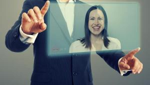Wideo rozmowa, telekonferencja, praca