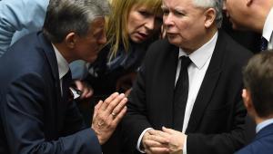 Kaczyński w Sejmie