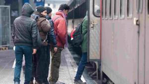 Imigranci w Niemczech EPA/ARMIN WEIGEL Dostawca: PAP/EPA.