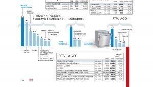 Produkcja przemysłowa w Polsce -RTV, AGD, transport