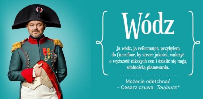Co zamierza Napoleon - kampania reklamowa Carrefoura