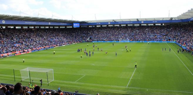King Power Stadium w Leicester