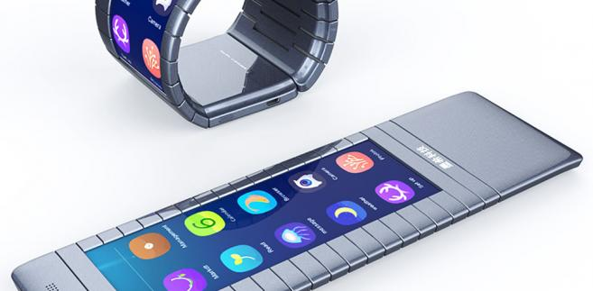 Elastyczny smartfon od Moxi Group