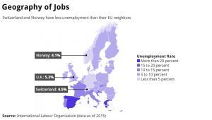 Stopa bezrobocia w Europie