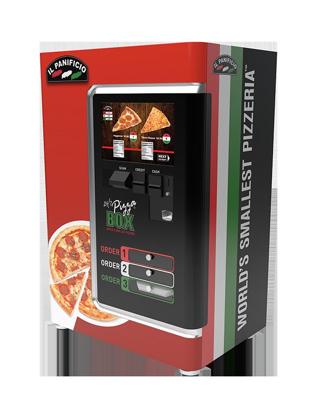 Automat do sprzedaży pizzy, źródło: 24/7 Pizza Box