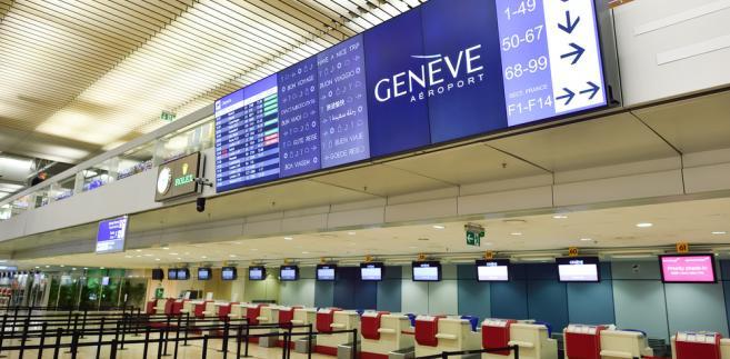 Lotnisko w Genewie
