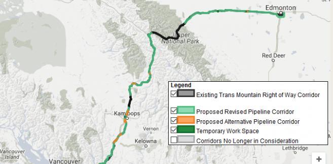 Projekt rozbudowy ropociągu Trans Mountain w Kanadzie