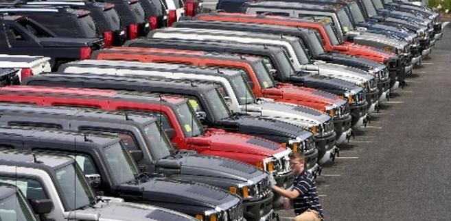 General Motors Corp. samochód Hummer SUVs
