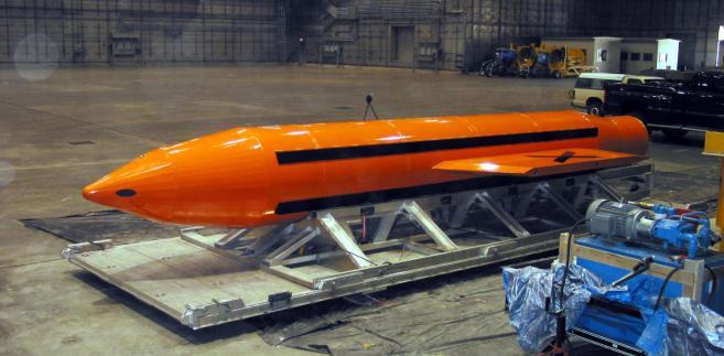 Bomba GBU 43  EPA Department of Defense