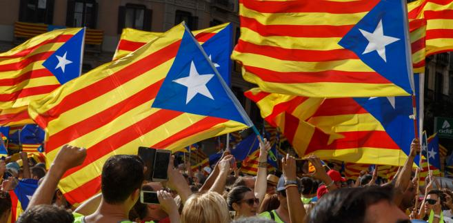 Katalonia flaga