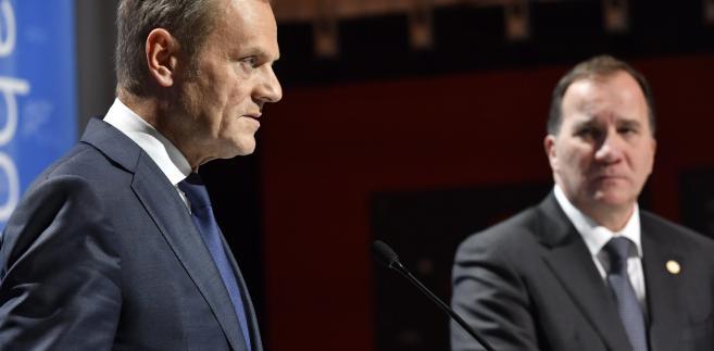 Donald Tusk na szczycie w Goeteborgu