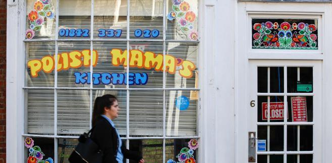 Polish Mama's Kitchen, bar z pierogami w brytyjskimmiasteczku Thetford