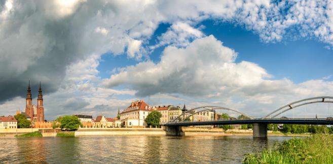 Opole, wiosna, lato