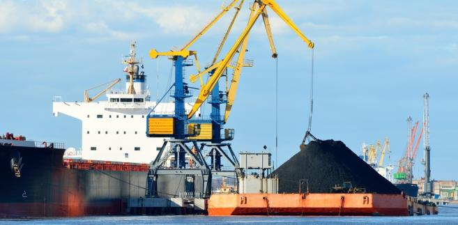 cargo, węgiel, port, towar