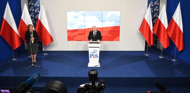 Konferencja Jarosława Kaczyńskiego