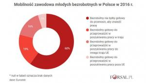 Mobilność zawodowa Polaków 2016 r.