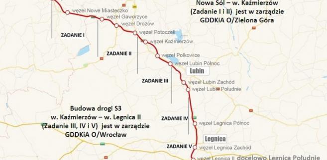 Budowa drogi S3; źródło: GDDKiA
