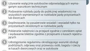 Warunki udzielenia zezwolenia na przewóz międzywojewódzki