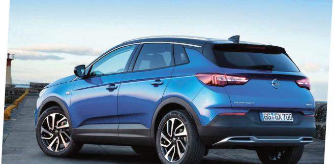 Opel grandland X fot. materiały prasowe