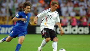 Łukasz Podolski na mistrzostwach świata w 2006 r.