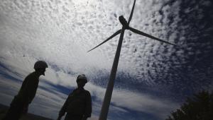 Turbina wiatrowa w Hiszpanii