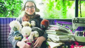 """""""Guzik prawda"""" – to pomysł na biznes Mileny Jaworskiej.- fot. Marta Pruska; Fundacja Inicjatyw Społeczno-Ekonomicznych"""