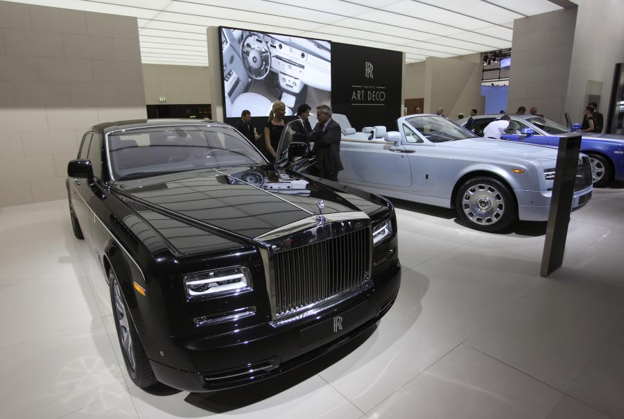 Rolls-Royce - model Phantom