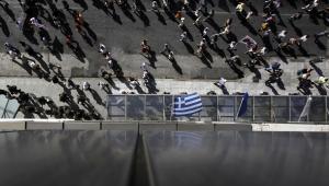 Grecja, protesty w Atenach