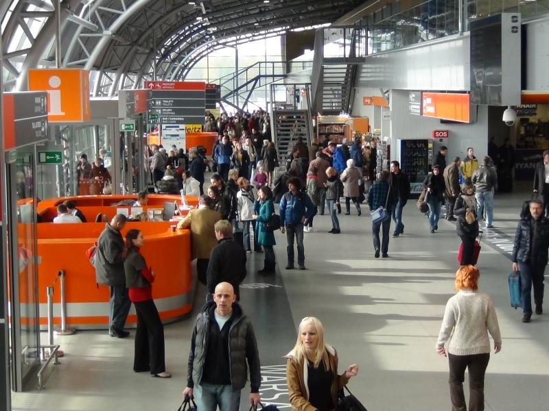 Lotnisko Warszawa/Modlin, źródło: Mazowiecki Port Lotniczy Warszawa-Modlin Sp. z o.o.